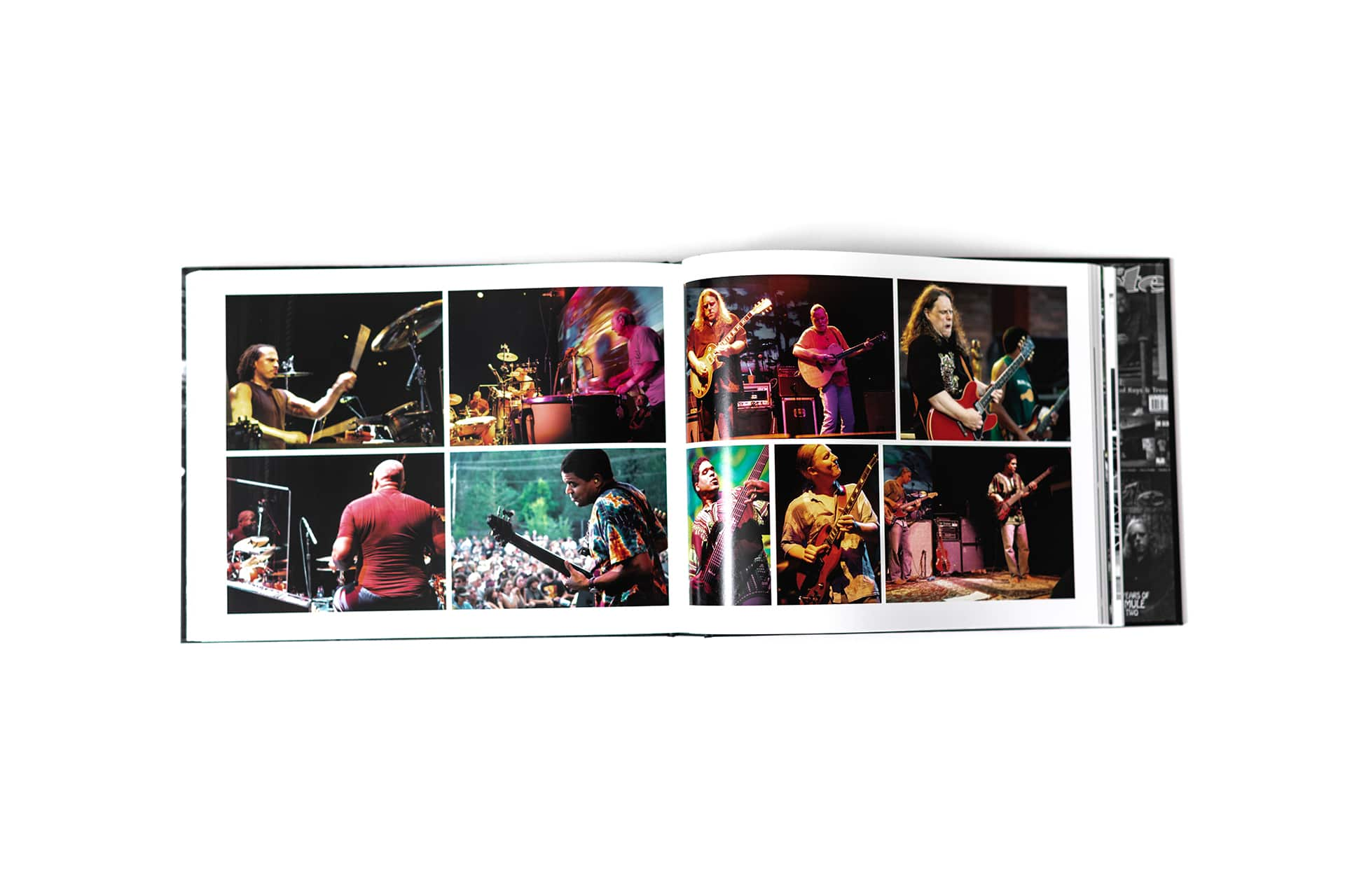 pages showing pictures from